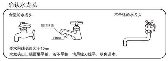 洗衣机龙头安装方法 洗衣机水龙头的尺寸