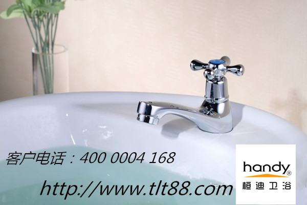 桓迪卫浴告诉您为什么您家的面盆水龙头用一段时间后会起黑点