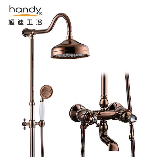 桓迪全铜欧式古典大淋浴 HD-6E07