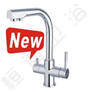 桓迪直饮水和自来水二合一全铜厨房用水龙头HD-3C23
